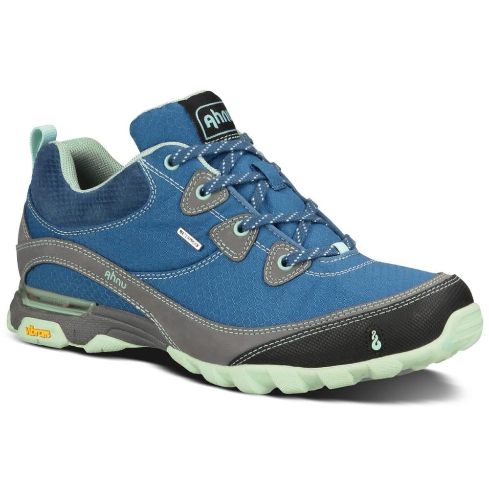 ahnu s sugarpine waterproof hiking shoes blue