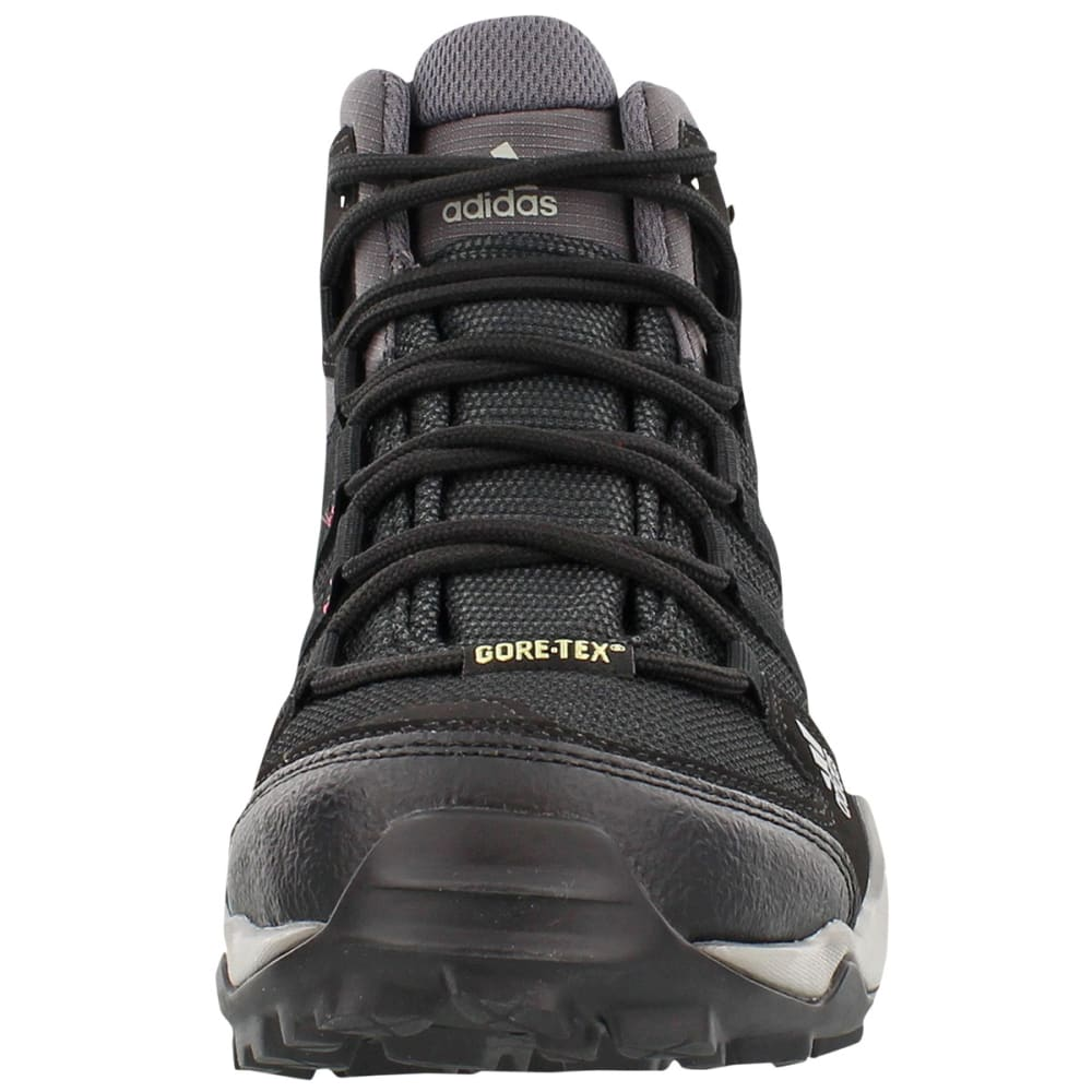 ADIDAS Women's AX 2.0 Mid GTX Hiking Boots, Carbon - CARBON/BLACK