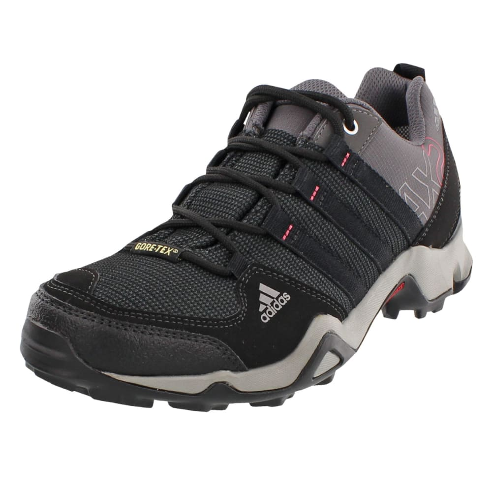 ADIDAS Women's AX 2.0 GTX Hiking Shoes, Carbon - CARBON/BLACK