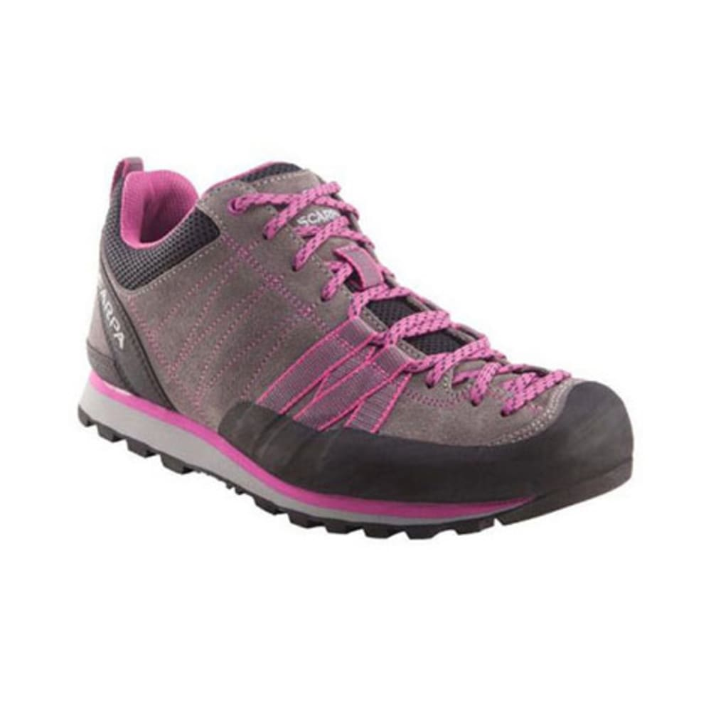 SCARPA Women's Crux Hiking Shoes, Mid Grey/Dahlia - GREY