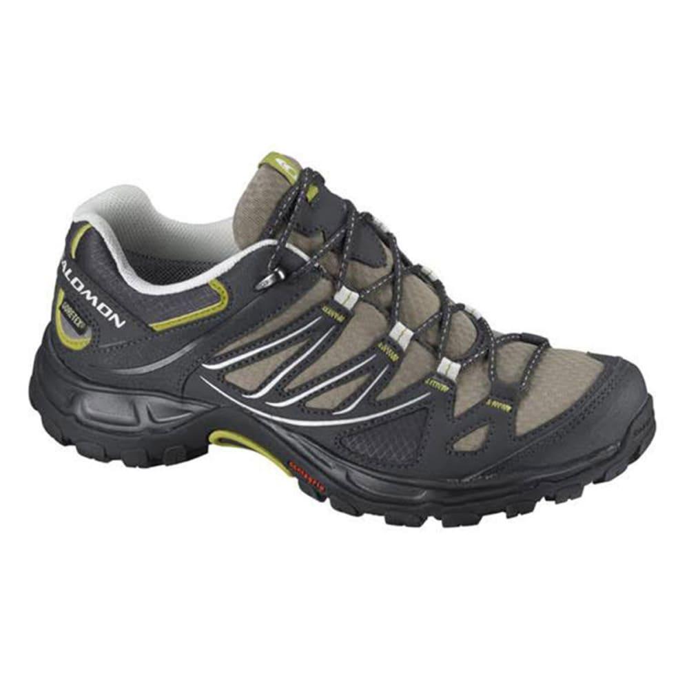 SALOMON Women's Ellipse GTX Hiking Shoes, ThymeAsphalt