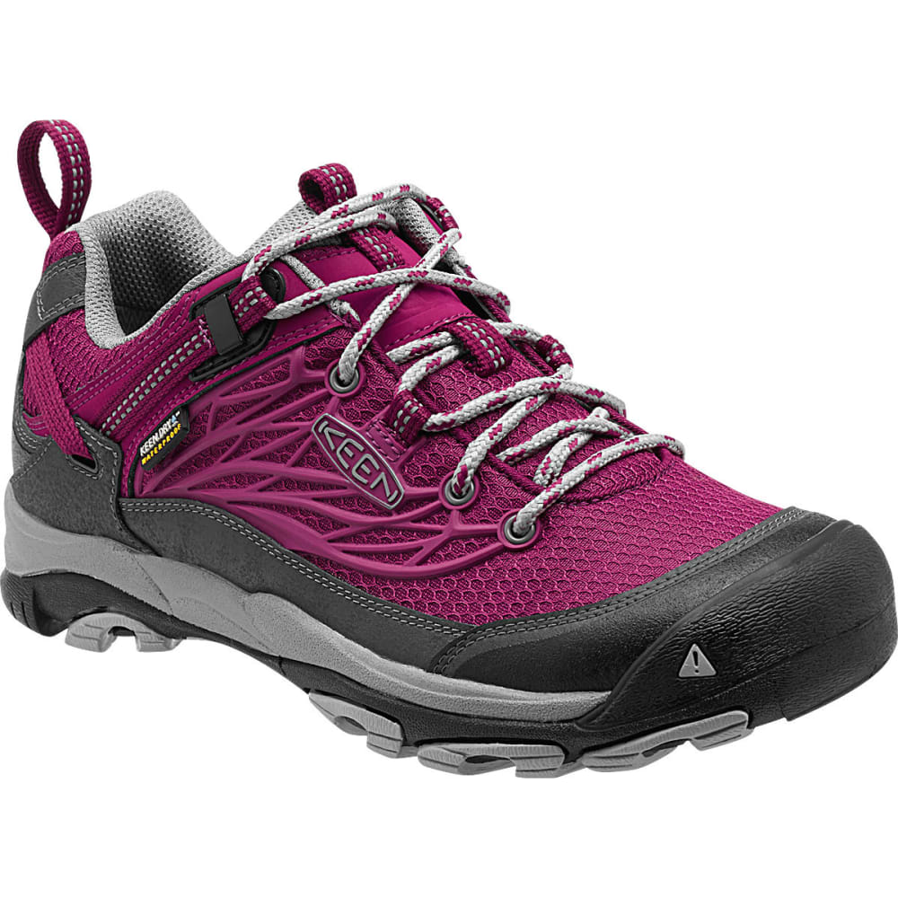 KEEN Women's Saltzman WP Hiking Shoes, Beet