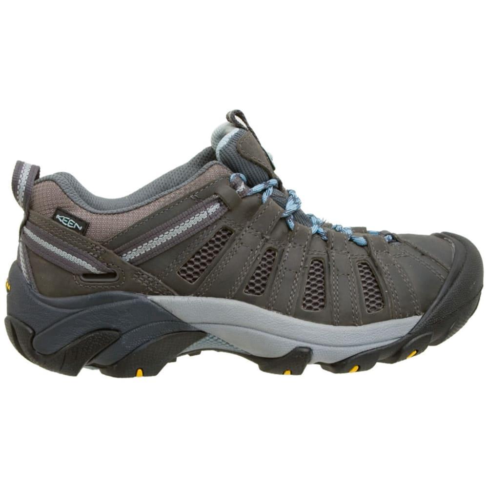 Keen Women's Voyageur Hiking Shoes - BRINDLE/ALASKAN BLUE