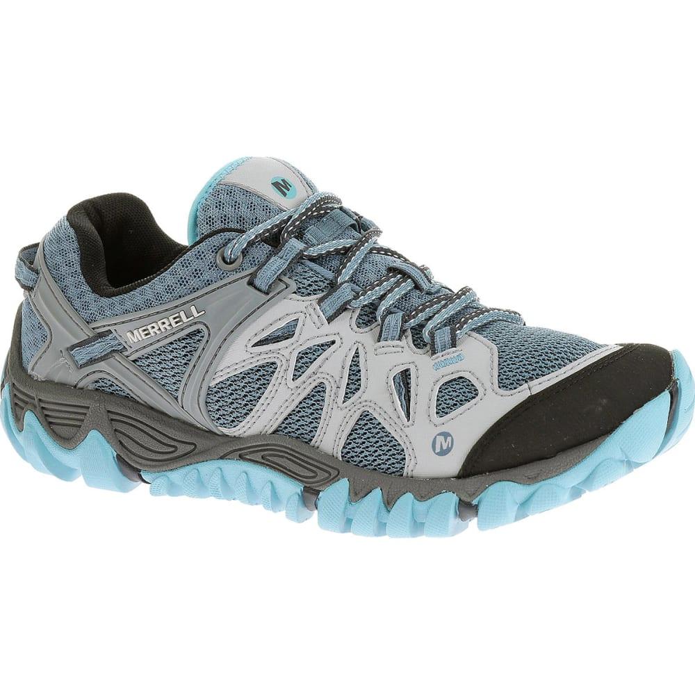 MERRELL Women's All Out Blaze Aero Sport Hiking Shoes, Blue Heaven - BLUE HEAVEN