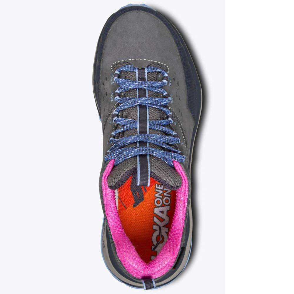 HOKA ONE ONE Women's Tor Summit WP Hiking Shoes - STEEL GREY