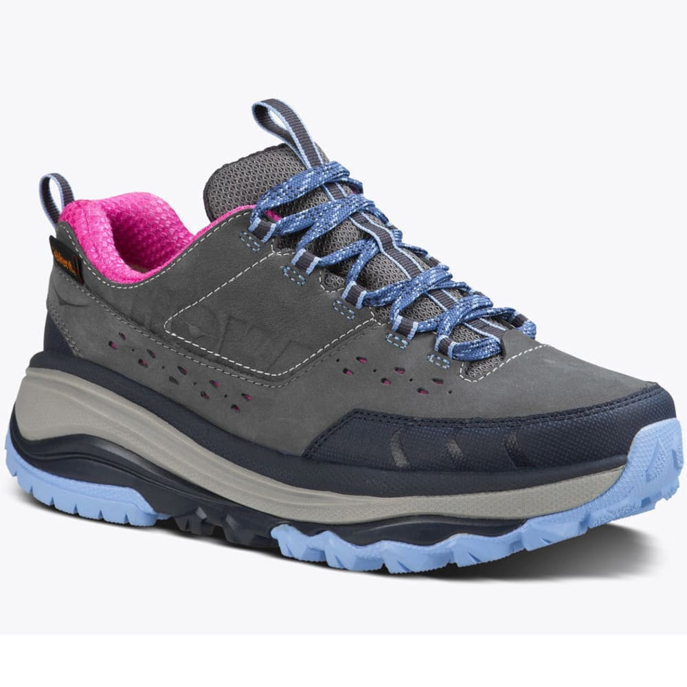 HOKA ONE ONE Women's Tor Summit WP Hiking Shoes - STEEL GREY