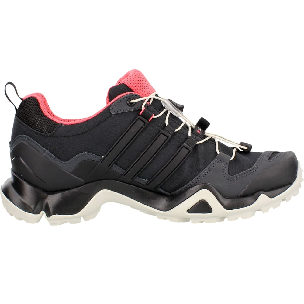 ADIDAS Women's Terrex Swift R GTX Shoes, Dark Grey/Black/Super Blush - DARK GREY