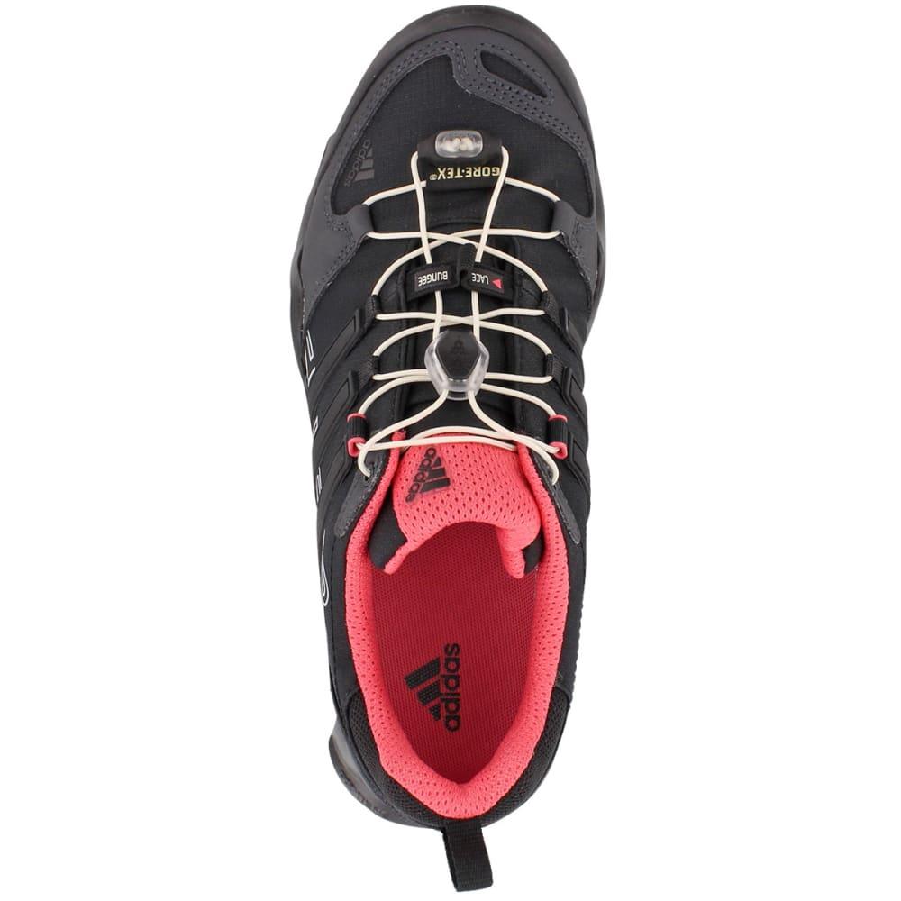 ADIDAS Women's Terrex Swift R GTX Shoes, Dark Grey/Black/Super Blush - DARK GREY
