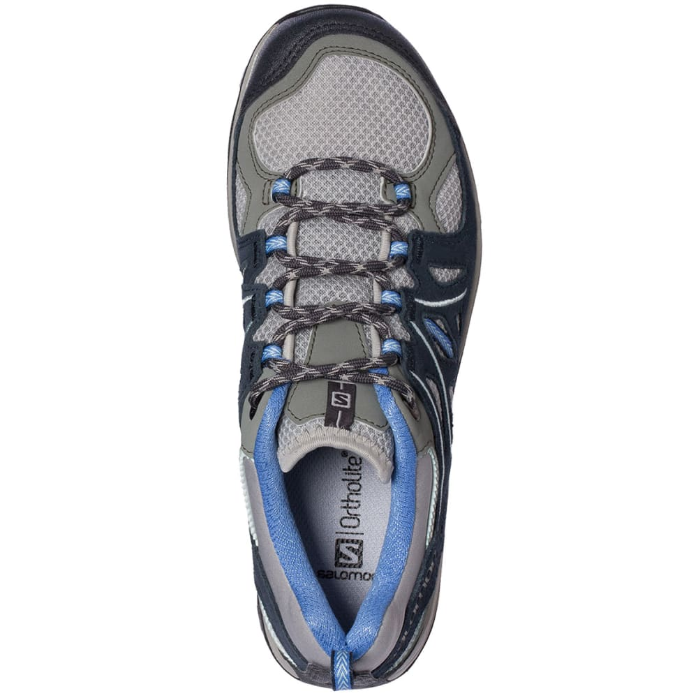 SALOMON Women's Ellipse 2 Aero Hiking Shoes - TITANIUM