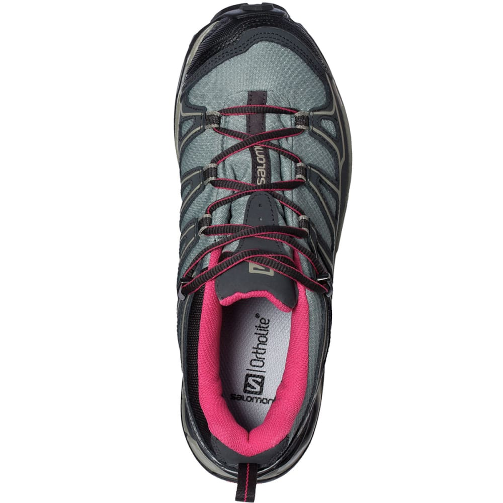 SALOMON Women's X Ultra Prime CS WP Hiking Shoes - ASPHALT