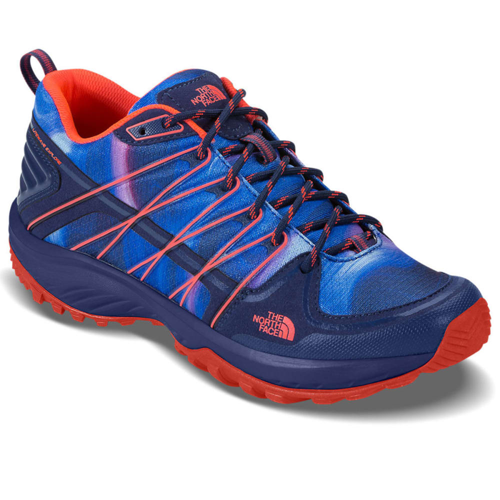 THE NORTH FACE Women's Litewave Explore Hiking Shoes - ZINC