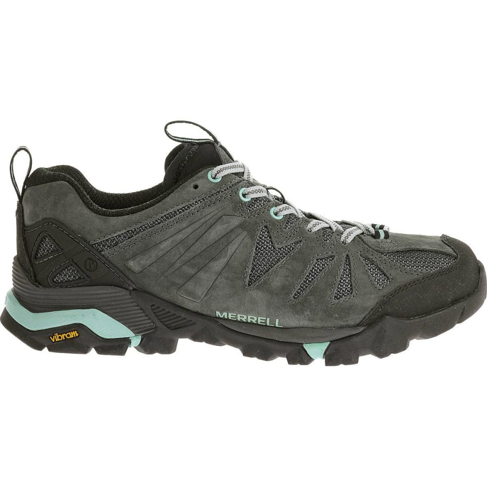 MERRELL Women's Capra Hiking Shoes, Granite - GRANITE