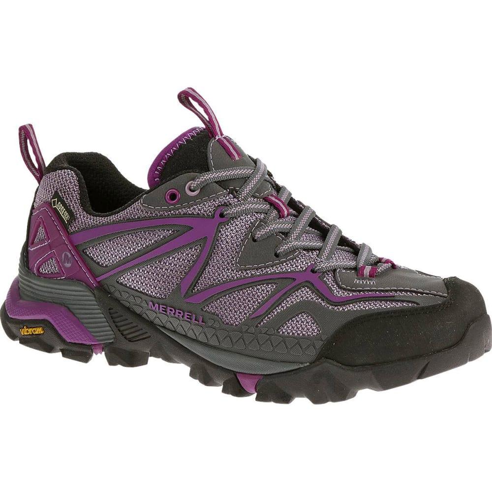 MERRELL Women's Capra Sport GTX Hiking Shoes, Purple - PURPLE