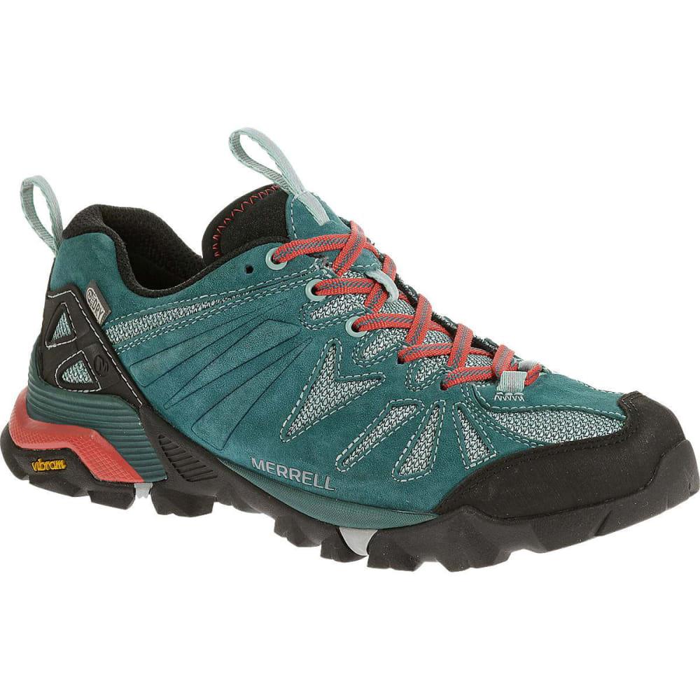 MERRELL Women's Capra Waterproof Hiking Shoes, Dragonfly - DRAGONFLY