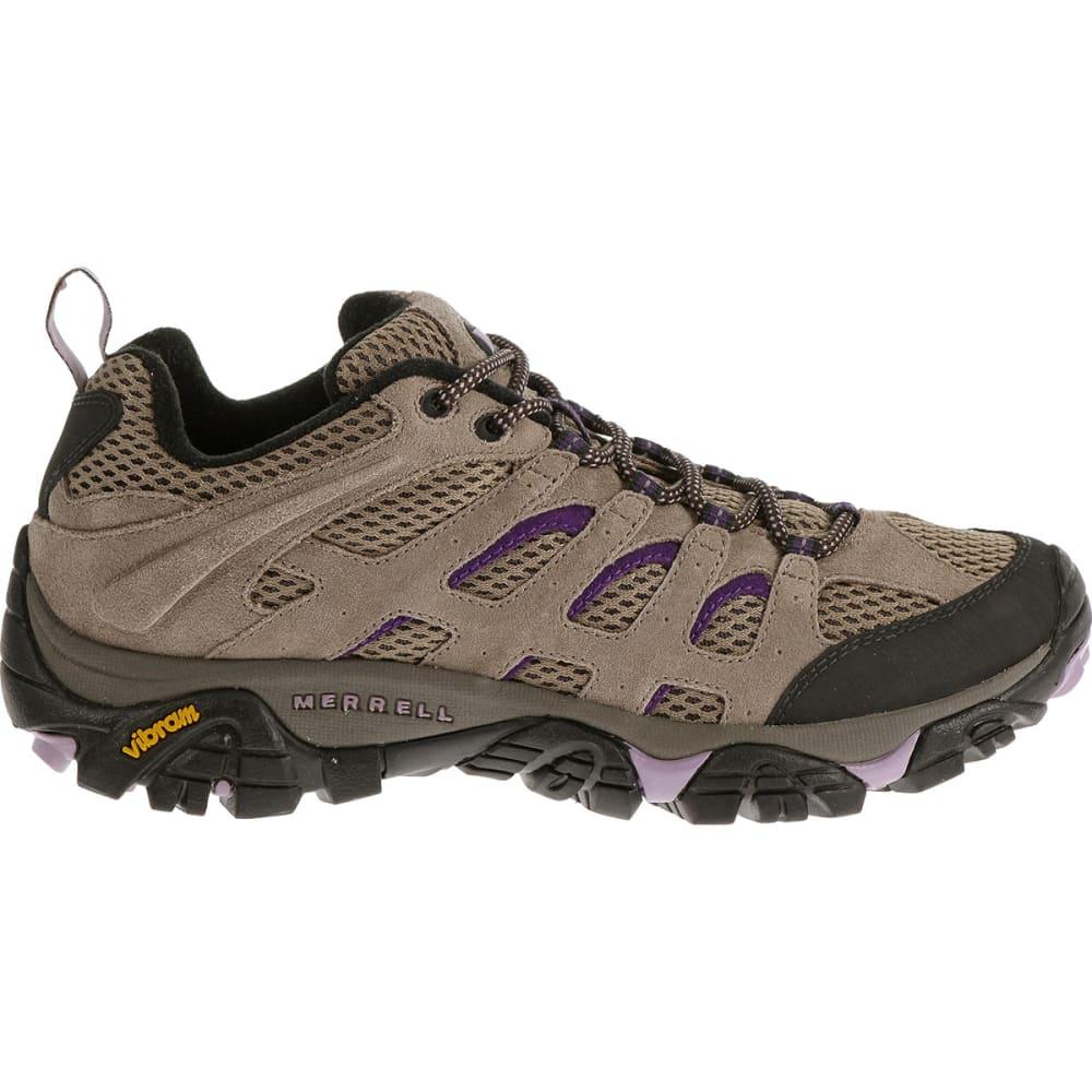 ... MERRELL Women's Moab Ventilator Hiking Shoes, Sand - ...