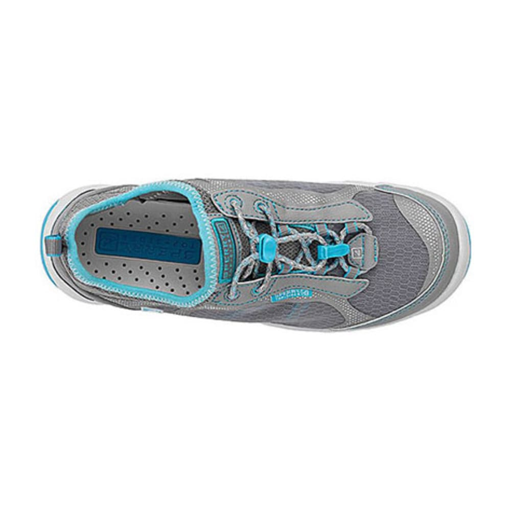 SPERRY Women's H20 Escape Bungee Water Shoes, Grey - LIMEADE