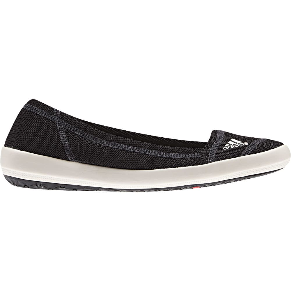 ADIDAS Women's Boat Slip-On Sleek Shoes, Black - BLACK
