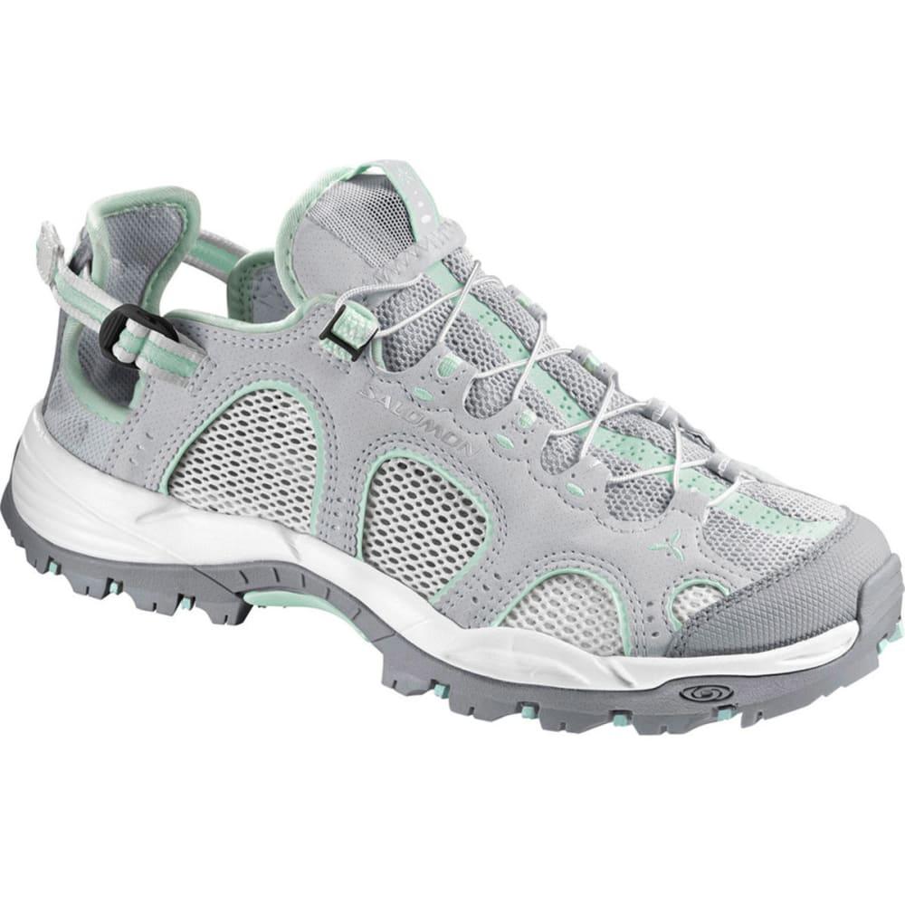 SALOMON Women's Techamphibian 3 Water Shoes, Light OnyxWhite