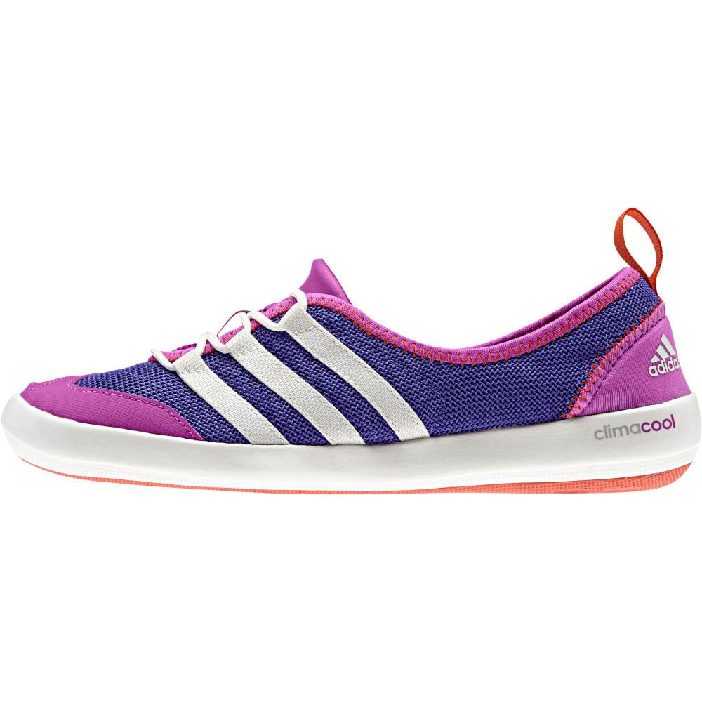 ADIDAS Women's Climacool Boat Sleek Shoes - NIGHT FLASH/CHALK WH