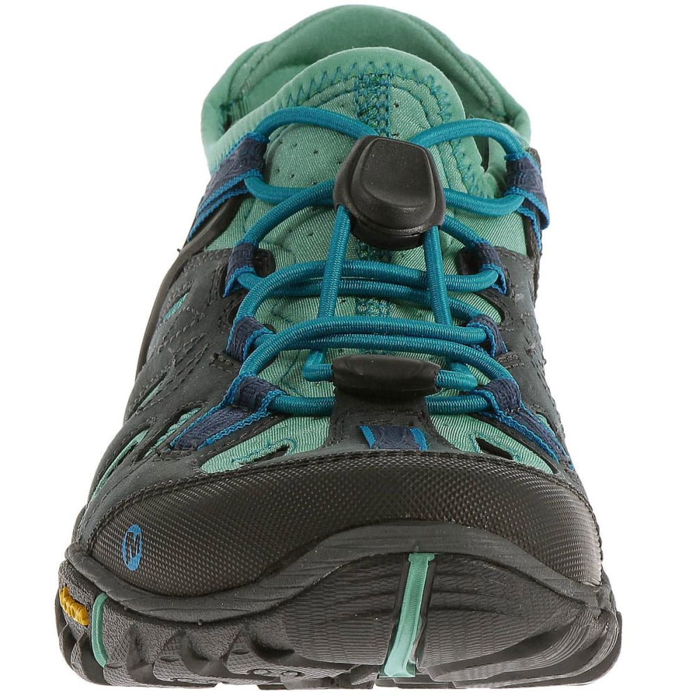 7f3a9fa3e5 MERRELL Women's All Out Blaze Sieve Water Shoes, Blue Wing