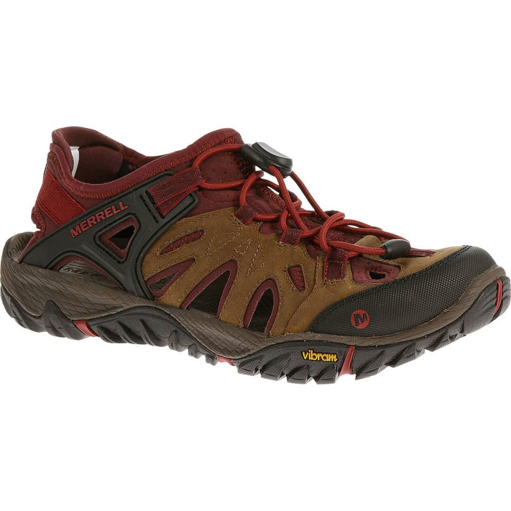merrell s all out blaze sieve water shoes brown sugar