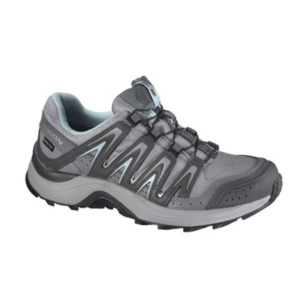 SALOMON Women's XA Comp 7 Climashield WP Trail Running Shoes, Aluminum - ALUMINUM
