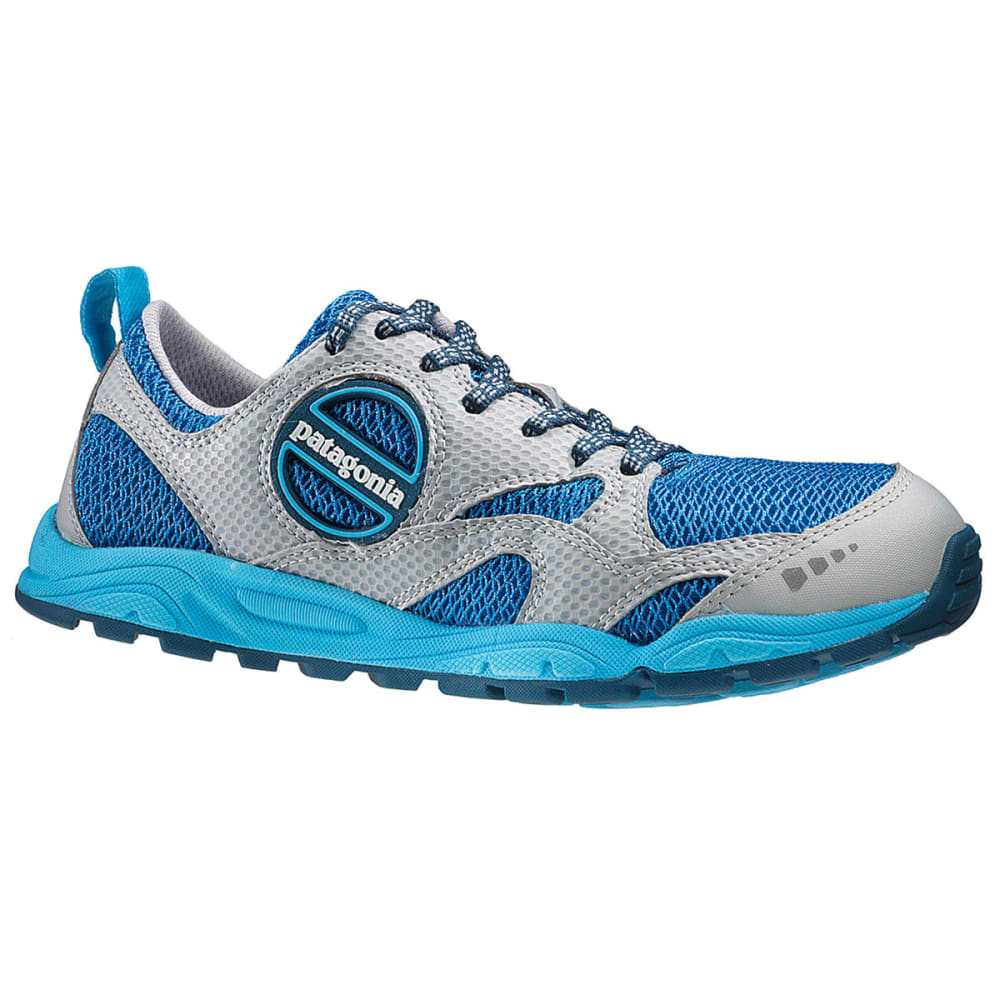 82185354 PATAGONIA Women's Evermore Trail Running Shoes, Sky/Deep Space -