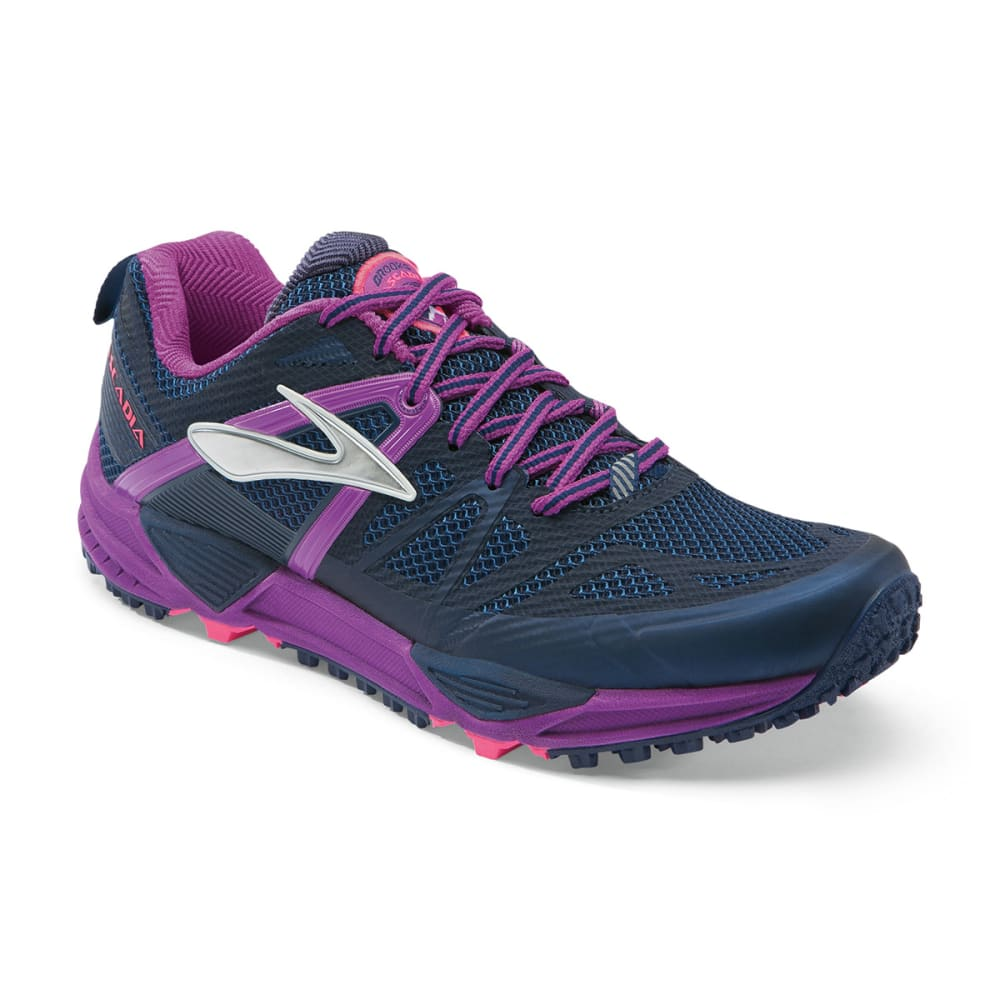 BROOKS Women's Cascadia 10 Trail Running Shoes - MIDNIGHT