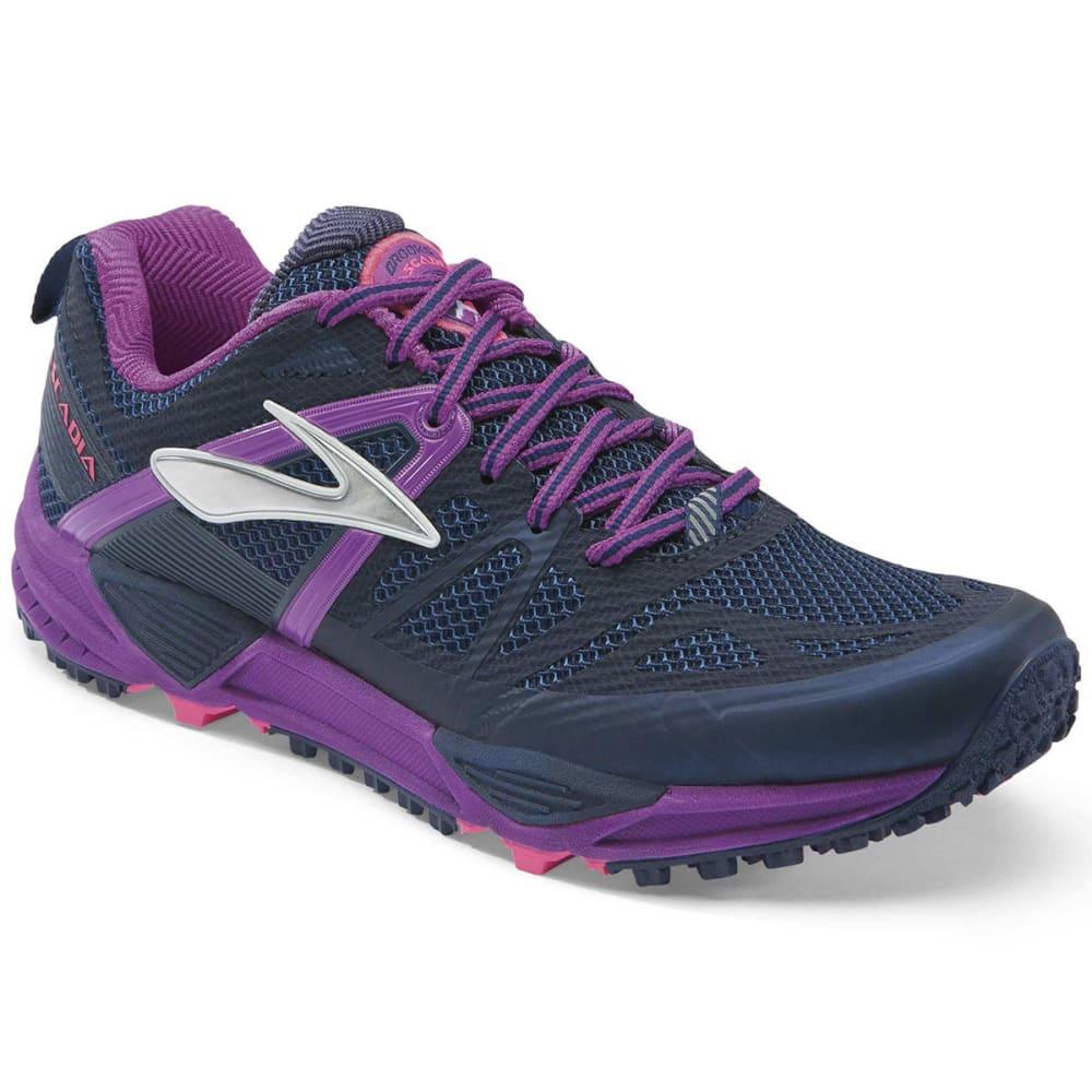 446a1814953 BROOKS Women  39 s Cascadia 10 Trail Running Shoes - MIDNIGHT