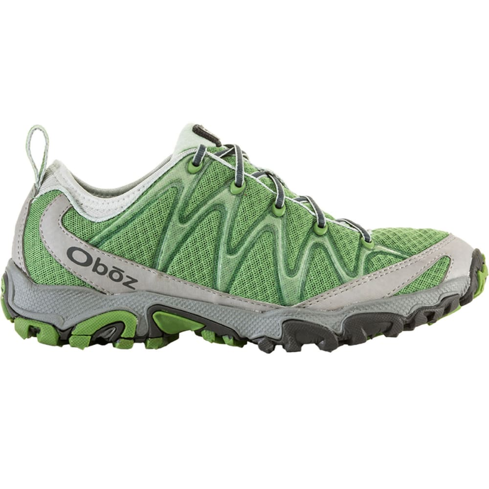 OBOZ Women's Emerald Peak Trail Running Shoes, Leaf - LEAF