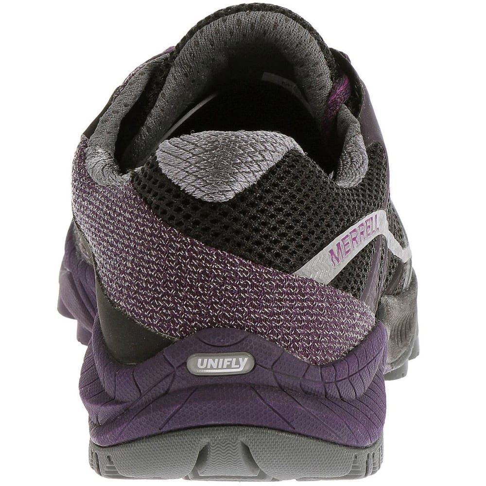 Merrell All Out Charge Hiking Boots & Shoes Black/Wild Plum USC