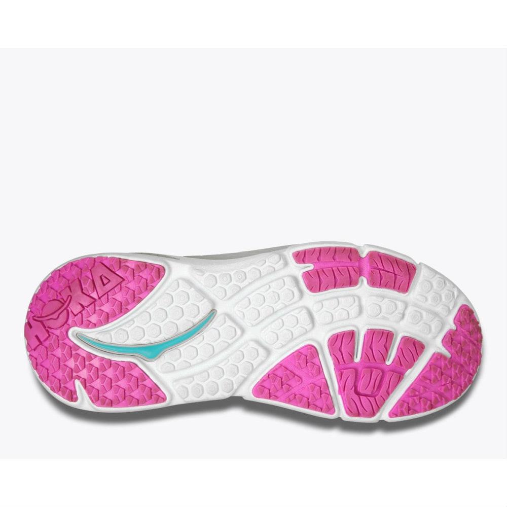 HOKA ONE ONE Women's Bondi 4 Running Shoes, Grey/Fushia - GREY