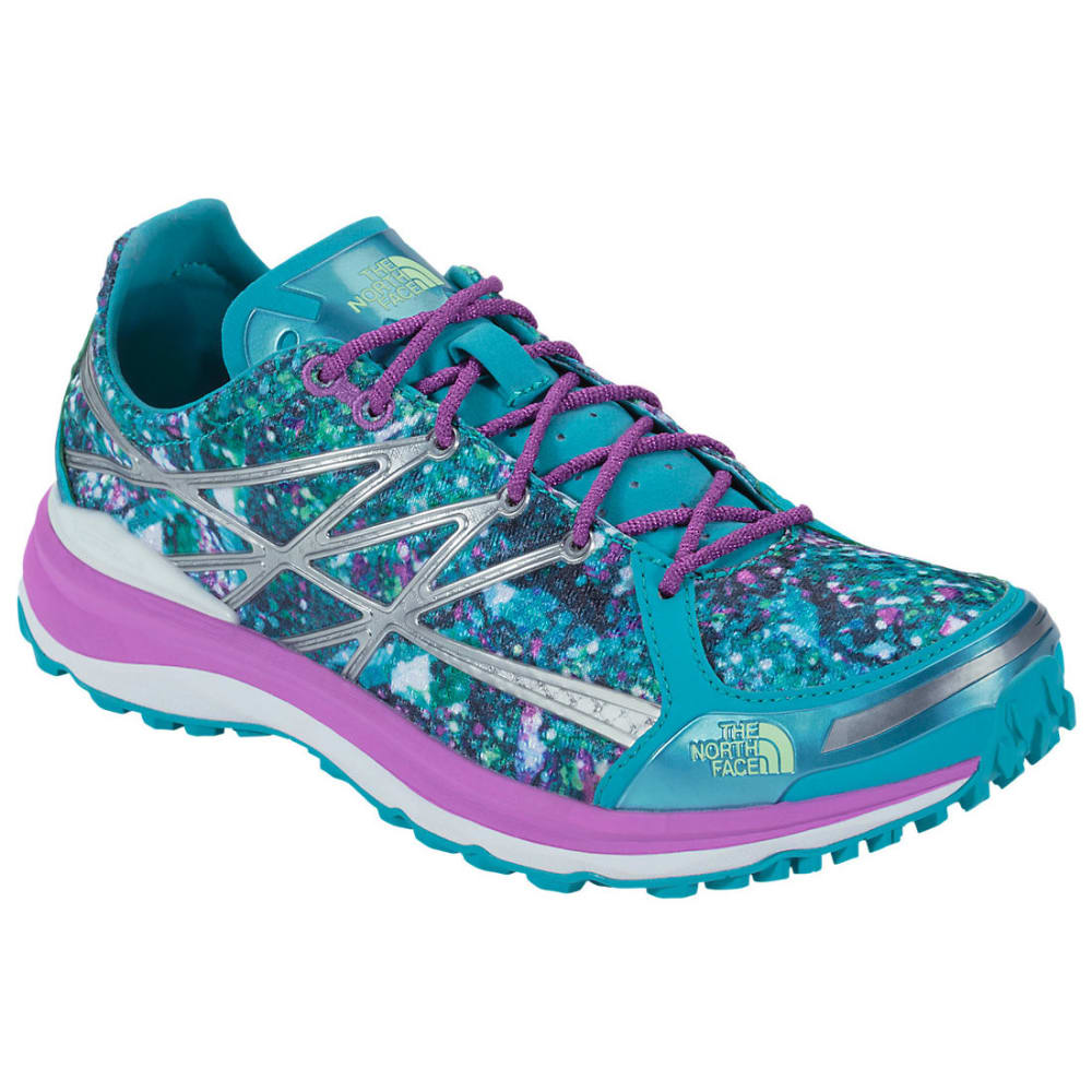 THE NORTH FACE Women's Ultra TR II Running Shoes, Bluebird/Sweet Violet - BLUE