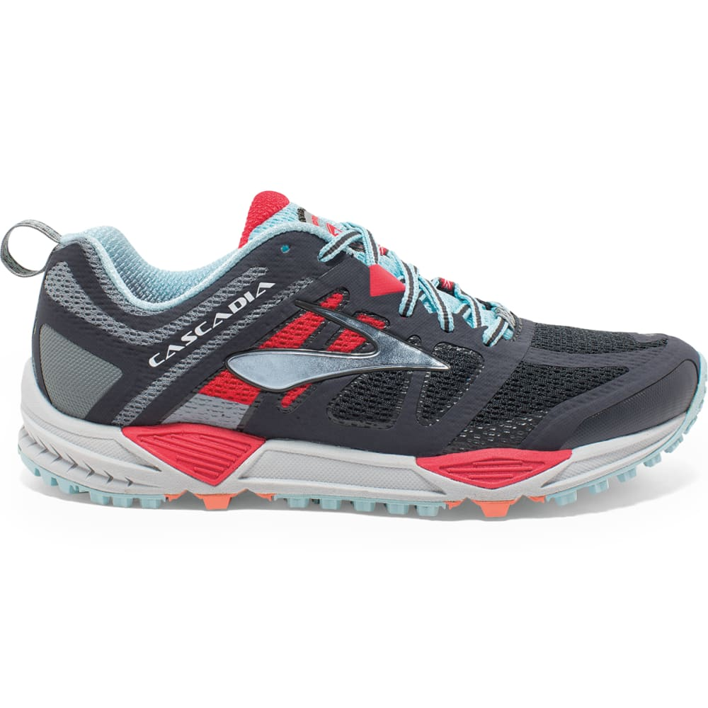 BROOKS Women's Cascadia 11 Trail Running Shoes - ANTHRACITE