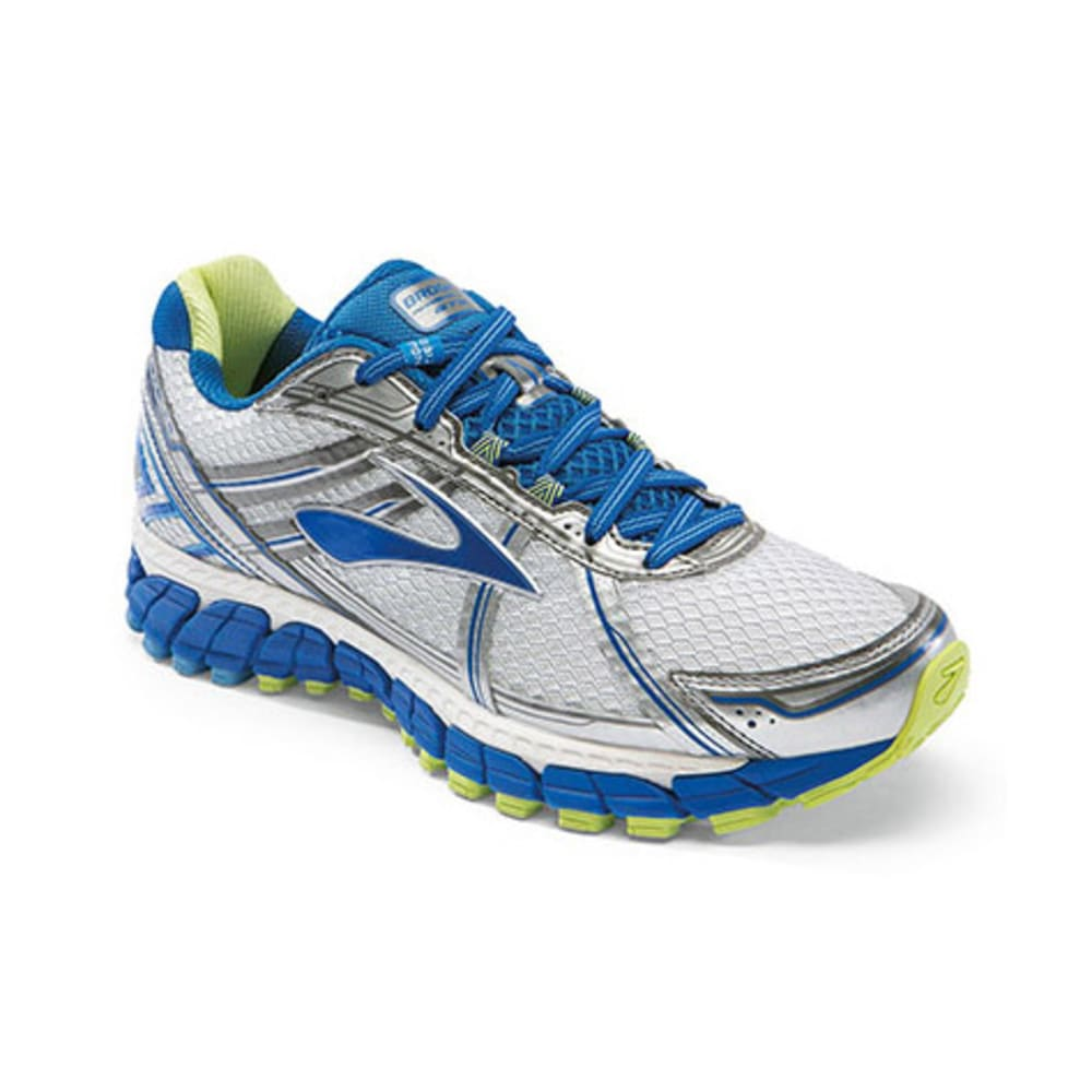 BROOKS Women's Adrenaline GTS 15 Road Running Shoes - WHITE