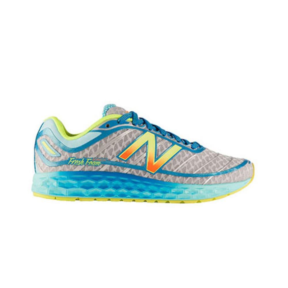 NEW BALANCE Women's 980 Fresh Foam Boracay Road Running Shoes, Blue/Yellow - BLUE/YEL