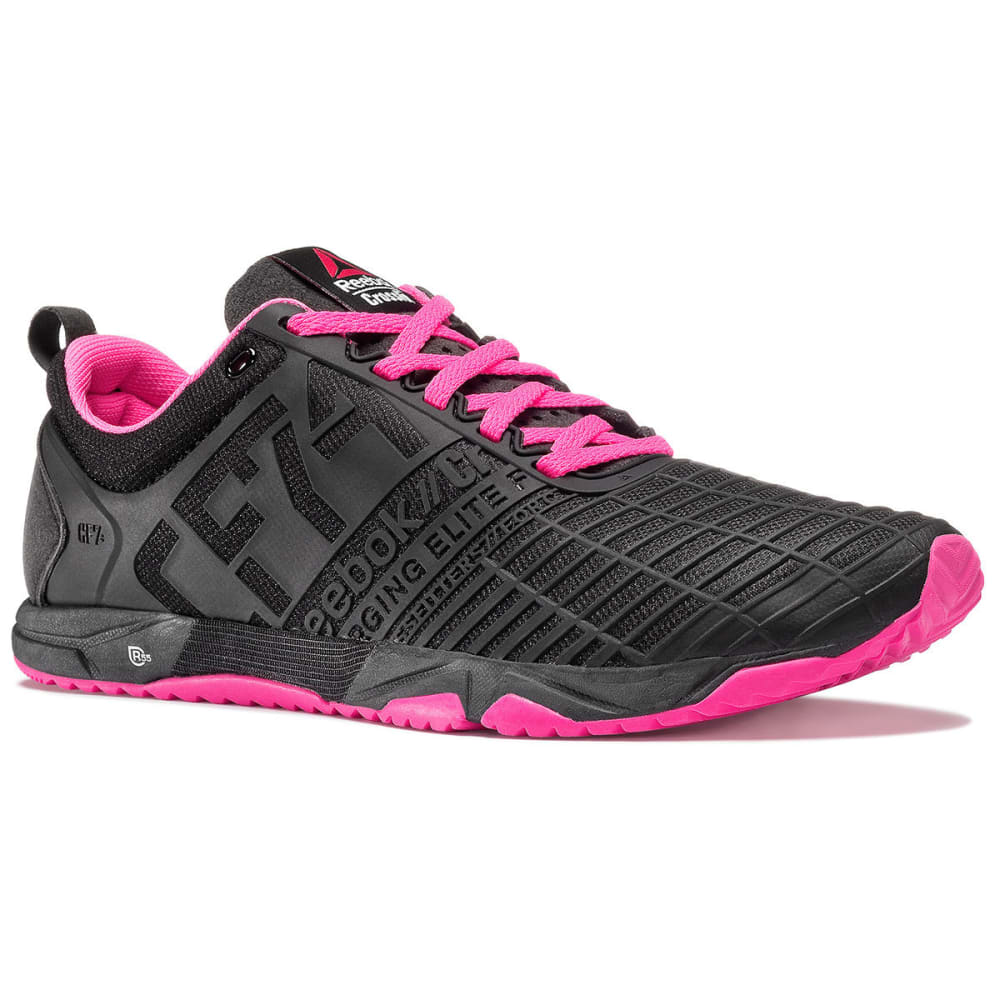 REEBOK Women's CrossFit Sprint TR Shoes - BLACK/PINK