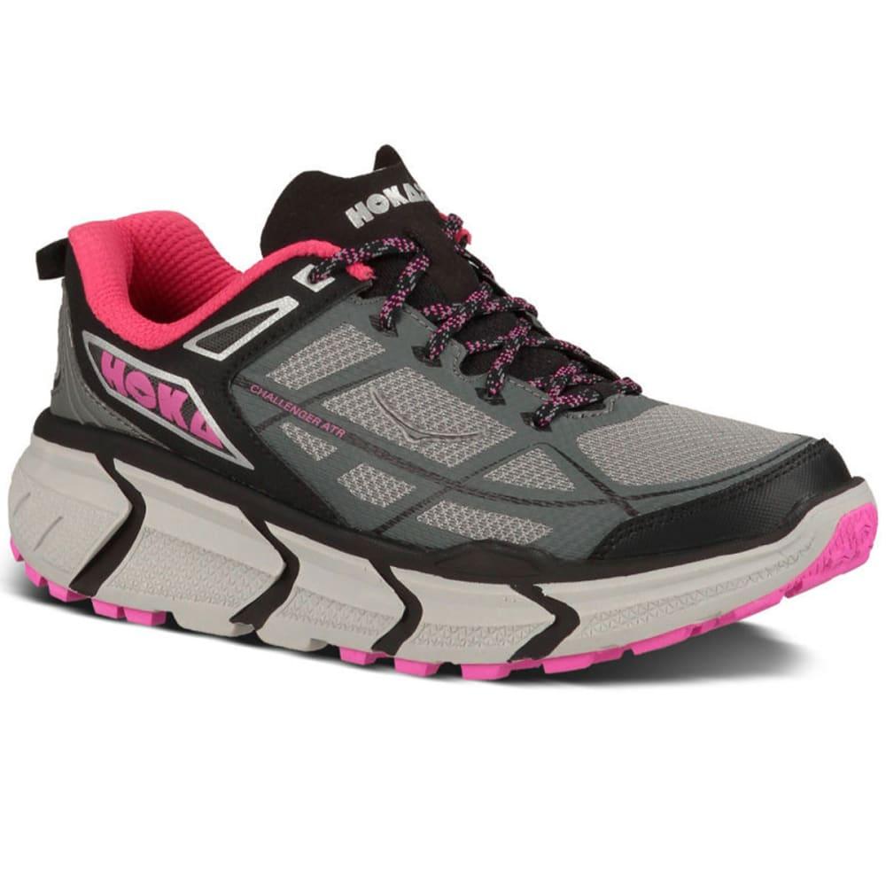 HOKA ONE ONE Womens Challenger ATR Trail Running Shoes Grey