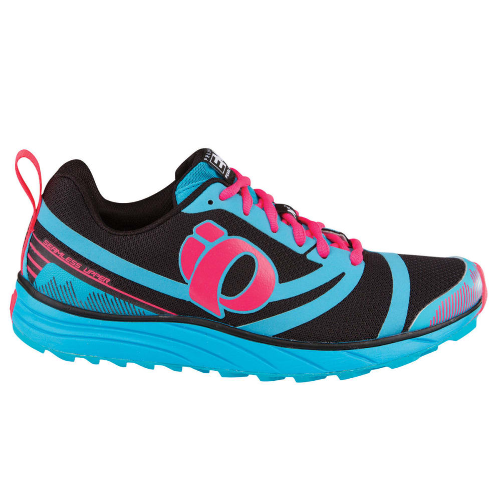 Womens Black And Blue Running Shoes