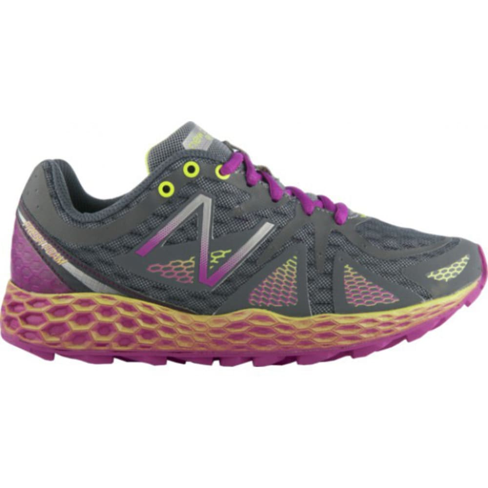 New Balance Women's Fresh Foam 980v1 Trail Running Shoes - GREY/PINK