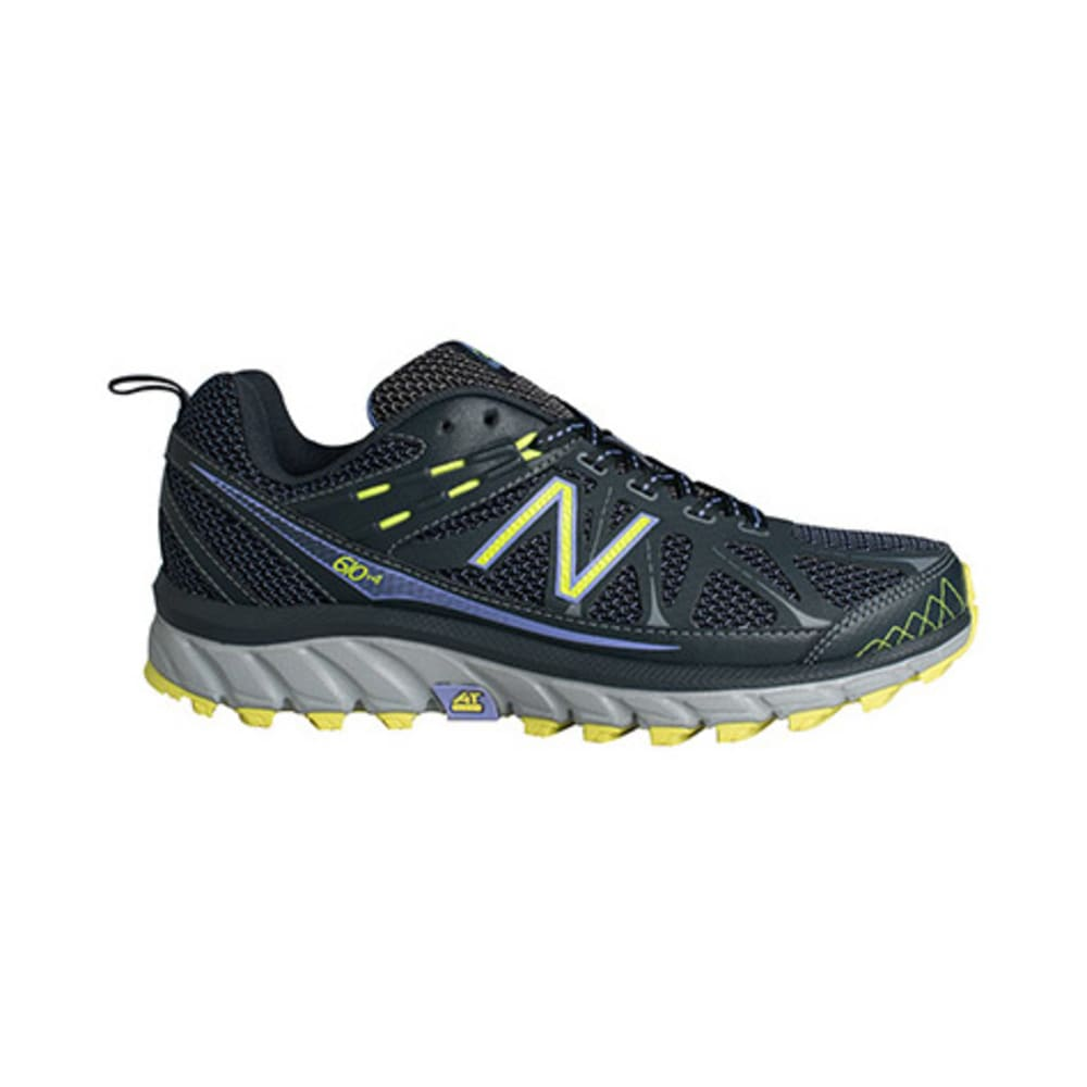 New Balance Women's 610v4 Trail Running Shoes - GREY/PURPLE