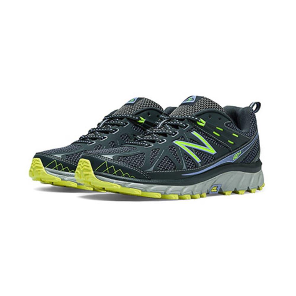 New Balance Women's 610v4 Trail Running Shoes - GREY/PURPLE