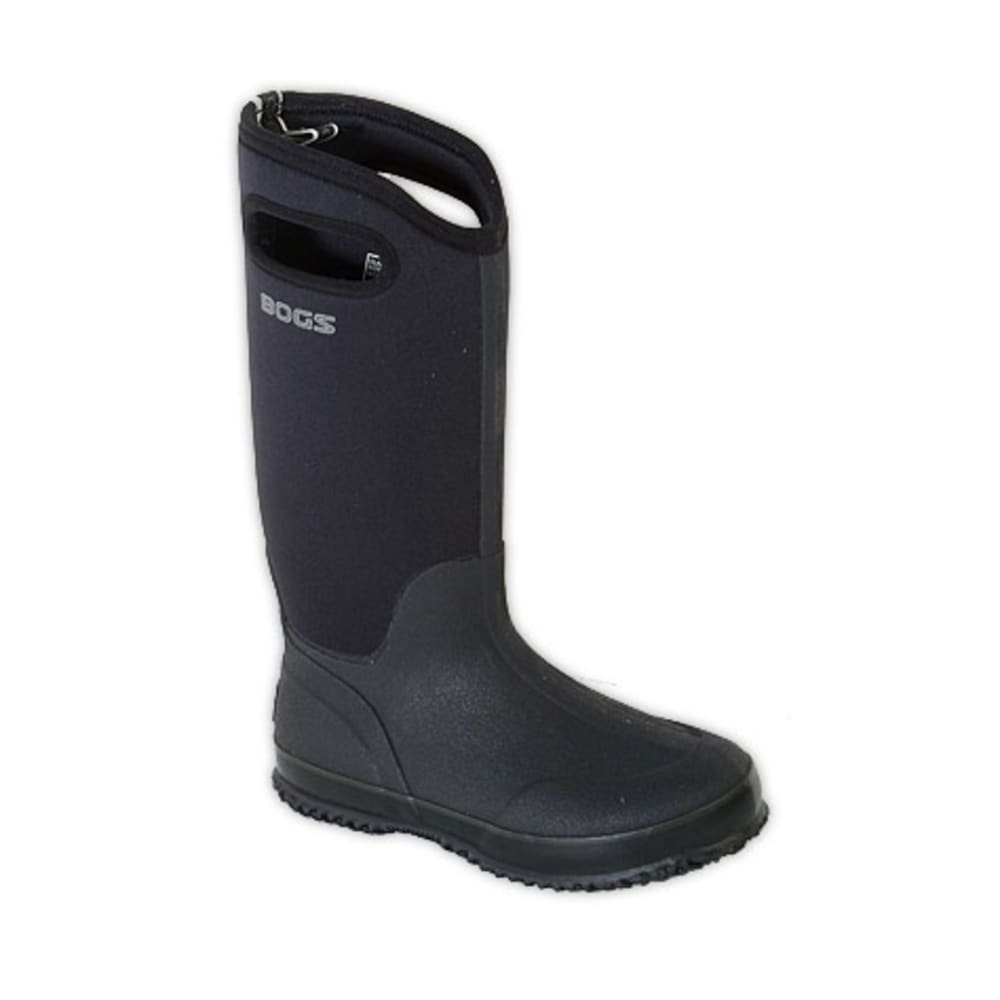 Bogs Women's Classic High Boots - Black - Size 6 60153