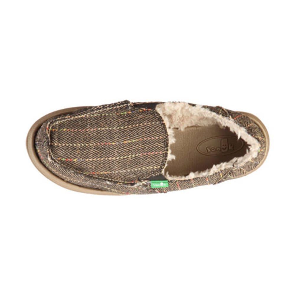 SANUK Women's Donna Chill Shoes, Black - BLACK