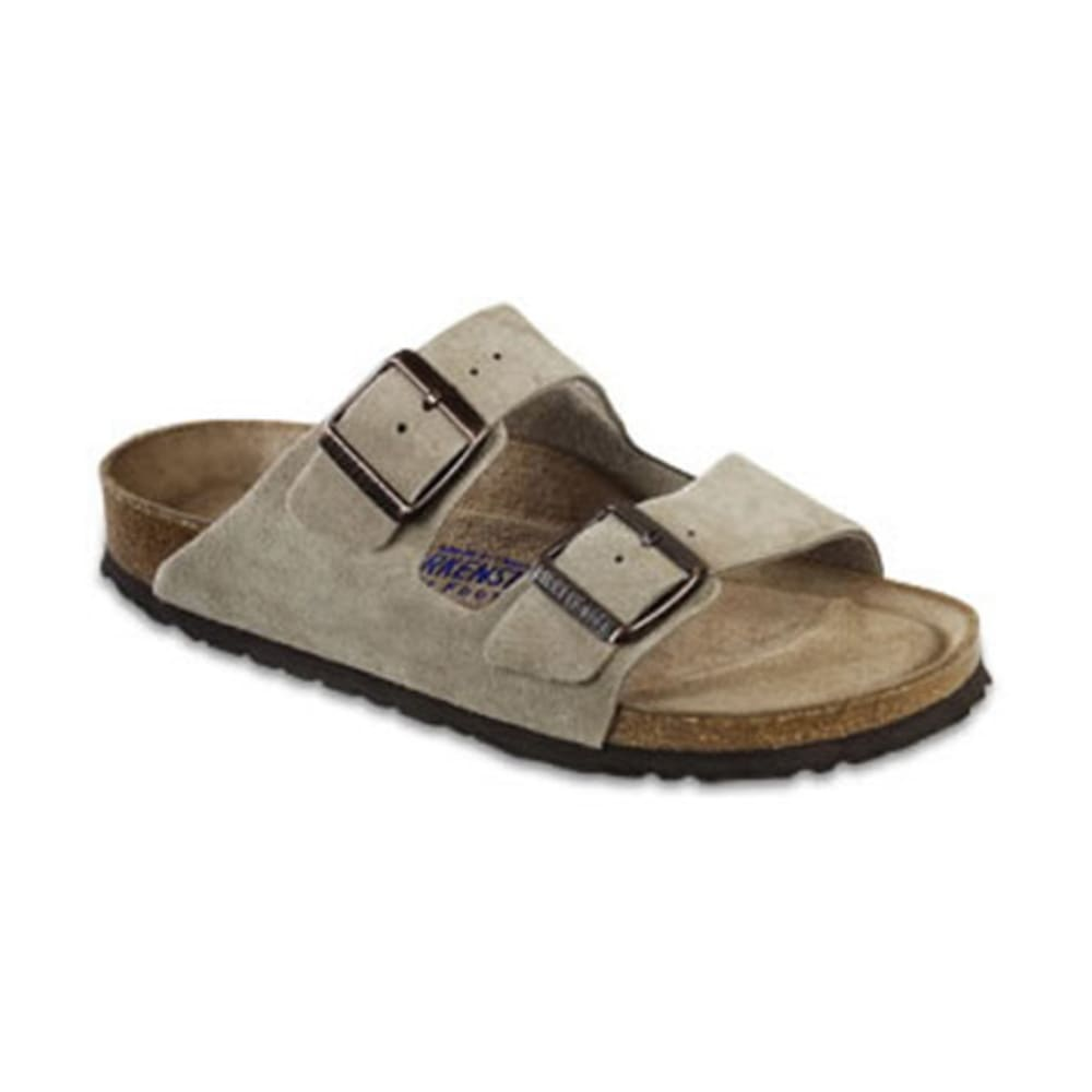 BIRKENSTOCK Women's Soft Footbed Arizona Sandals - TAUPE
