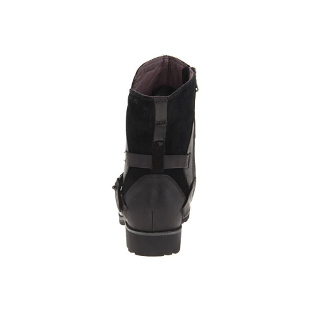 TEVA Women's De La Vina Low Boots, Bison - BLACK