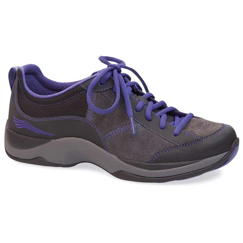 DANSKO Women's Sabrina Shoes, Black/Violet - BLACK