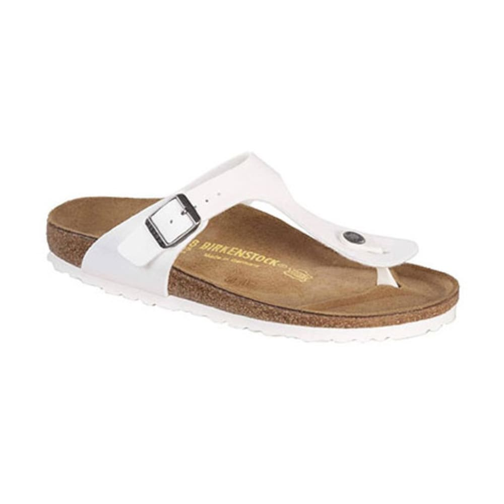BIRKENSTOCK Women's Gizeh Sandals, Regular, White - WHITE