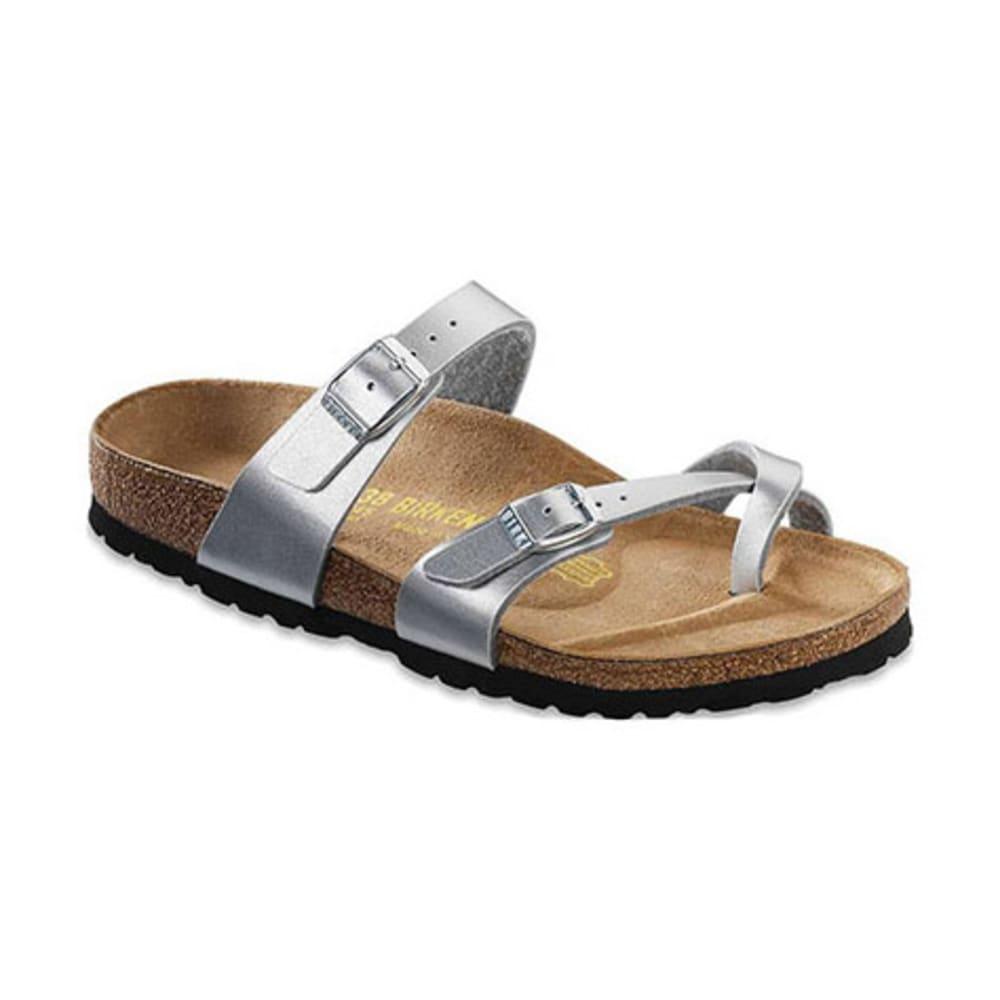 BIRKENSTOCK Women's Mayari Sandals, Regular, Silver - SILVER