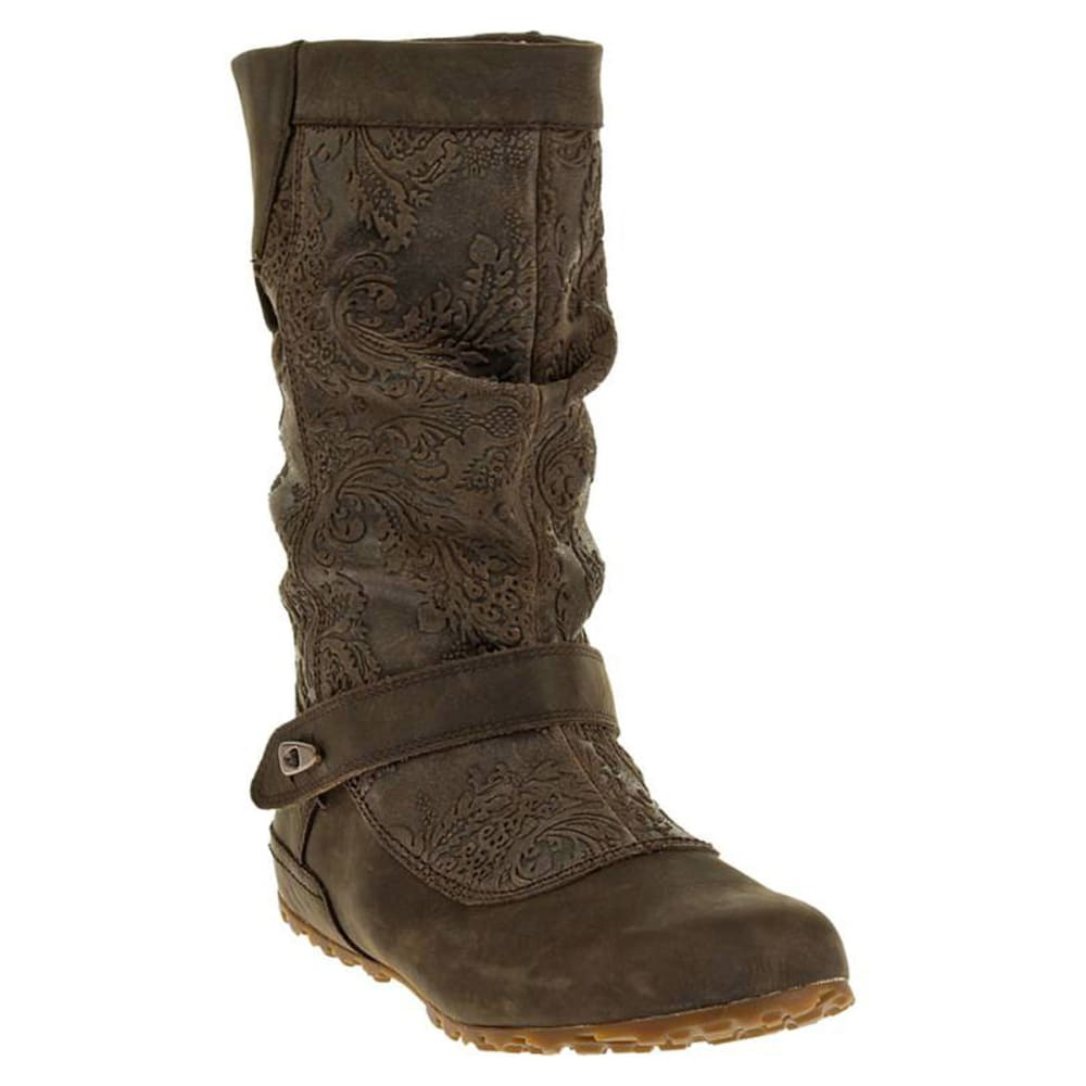 merrell s pull boots brown